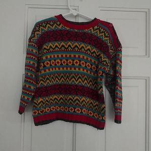 Hanna Andersson Multicolored Sweater